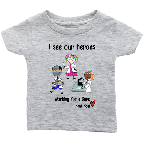 Science Heroes Infant Tee (8702)
