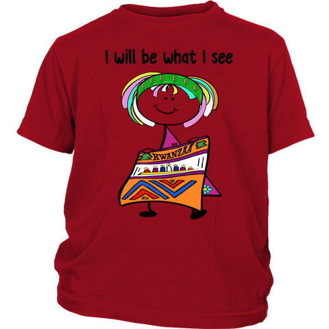 Girl Kwanzaa Youth Tee (8007)