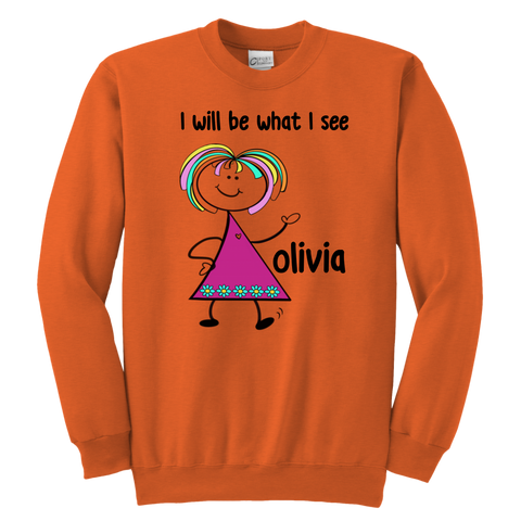 OLIVIA Youth Sweat (4001)