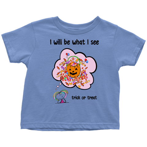 Girl Halloween Toddler Tee (8002)
