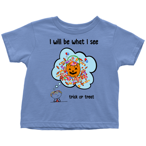 Boy Halloween Toddler Tee (8001)