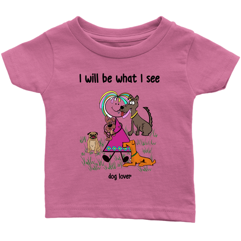 Girl Dog Lover Infant Tee (2030)