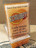 Scrubby Soap -  Orange citrus cleaner Farmhouse Inspired