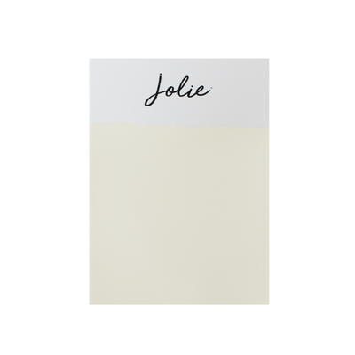 Jolie Paint in ANTIQUE WHITE Chalk Paint Ivory Farmhouse Inspired