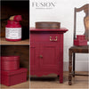 Furniture in Cranberry - DIY Mineral Paint - Farmhouse Inspired