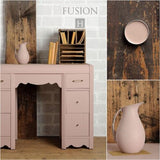 Desk in Damask - DIY Fusion Mineral Paint - Farmhouse Inspired