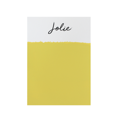 Jolie Paint EMPEROR'S YELLOW Chalk Paint earthy color Farmhouse Inspired