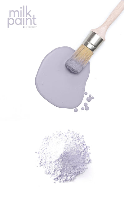 Milk Paint by Fusion Wisteria Row pale purple Farmhouse Inspired