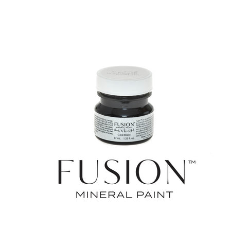 Coal Black - DIY Fusion Mineral Paint - Farmhouse Inspired