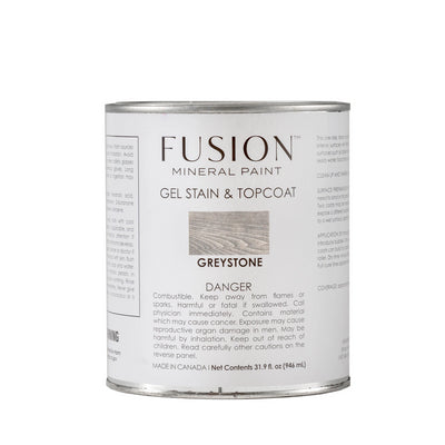Fusion Gel Stain Greystone at Farmhouse Inspired