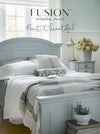 Bed in Little Whale - DIY Fusion Mineral Paint - Farmhouse Inspired