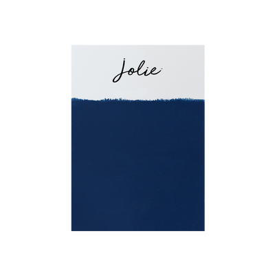 Jolie Paint GENTLEMEN'S BLUE Chalk Paint dark royal blue Classic Boho masculine feminine Farmhouse Inspired