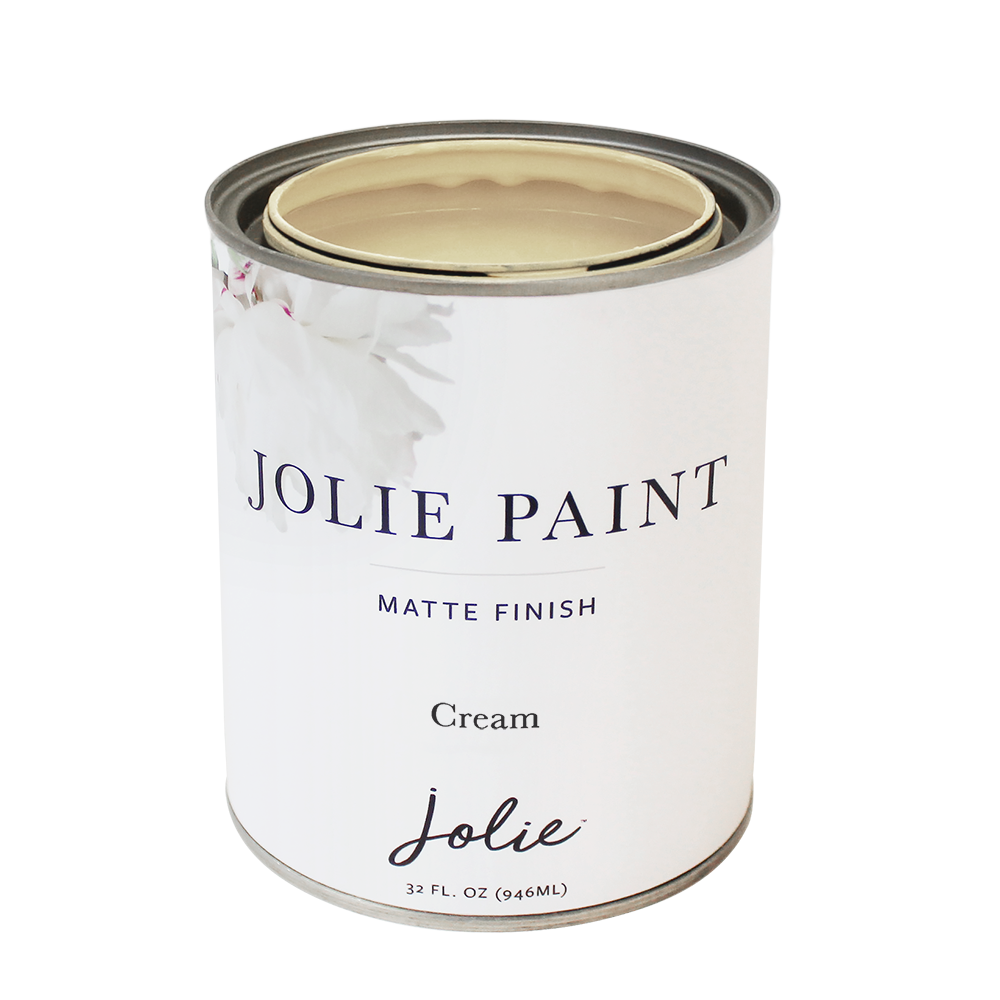 Jolie Paint Cream Chalk Paint Farmhouse Inspired