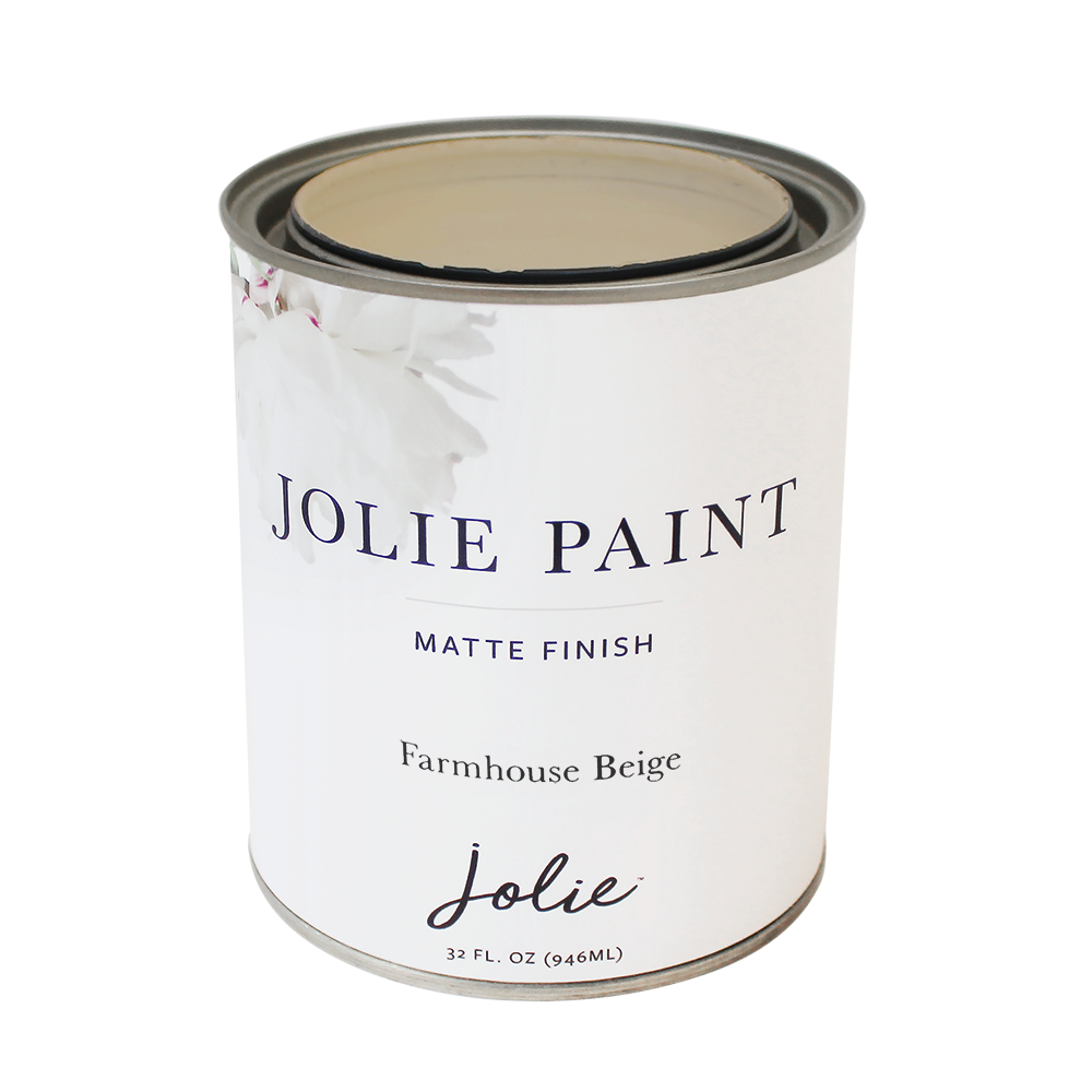 Jolie Paint FARMHOUSE BEIGE Chalk Paint Farmhouse French Country Farmhouse Inspired