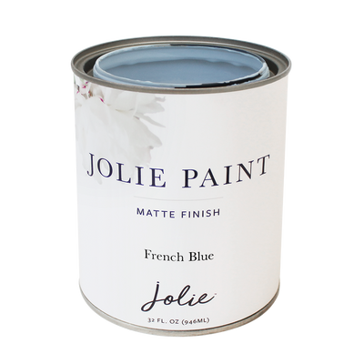 Jolie Paint FRENCH BLUE Chalk Paint baby blue Farmhouse Inspired