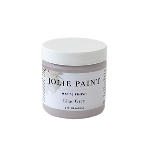 Jolie Paint LILAC GREY muted grey icy purple Chalk Paint sophisticated neutral Farmhouse Inspired