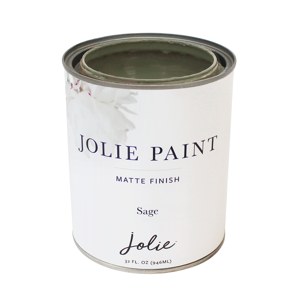 Jolie Paint SAGE Chalk Paint earthy green Farmhouse Inspired