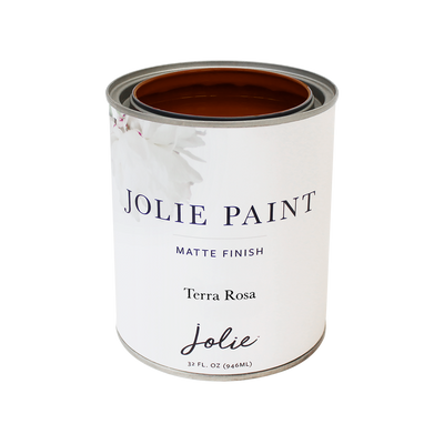 Jolie Paint TERRA ROSA brownish red Chalk red soil Farmhouse Inspired