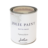 Jolie Paint in UPTOWN ECRU light beige Chalk Paint classic Georgian mansions uptown New Orleans FarmHouse Inspired