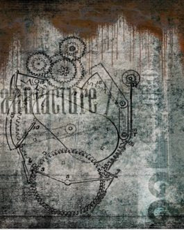 Manufactured Heart Industrial Grunge Roycycled Treasures FarmhouseInspired.