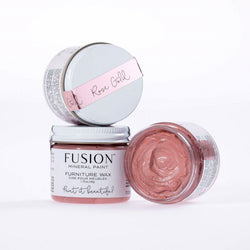 Rose Gold Wax - DIY Fusion Mineral Paint - Farmhouse Inspired