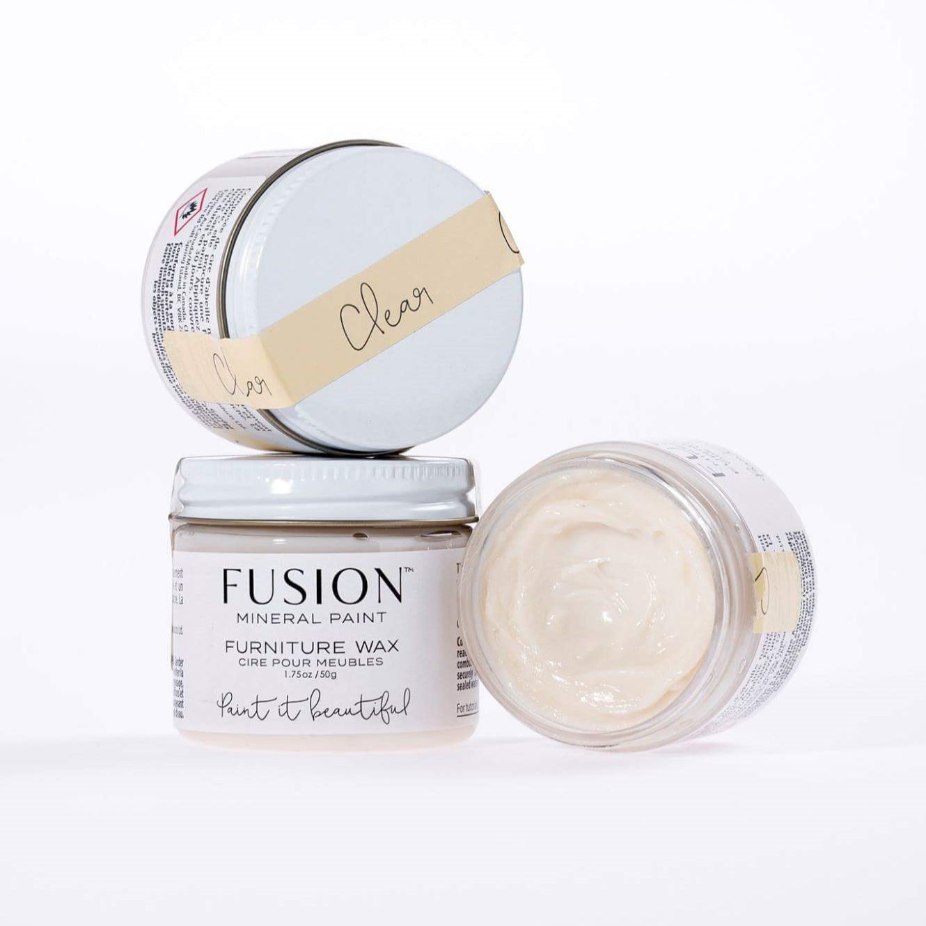 Clear Wax- DIY Fusion Mineral Paint - Farmhouse Inspired