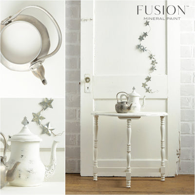 Table in Casement - DIY Fusion Mineral Paint - Farmhouse Inspired