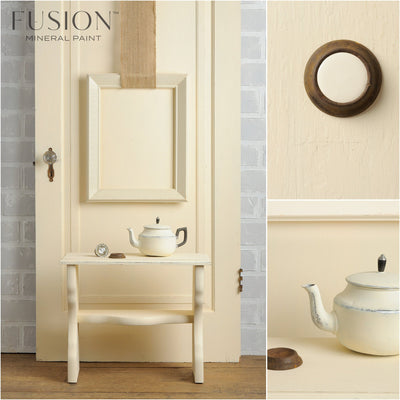 Furniture in Limestone - DIY Fusion Mineral Paint - Farmhouse Inspired