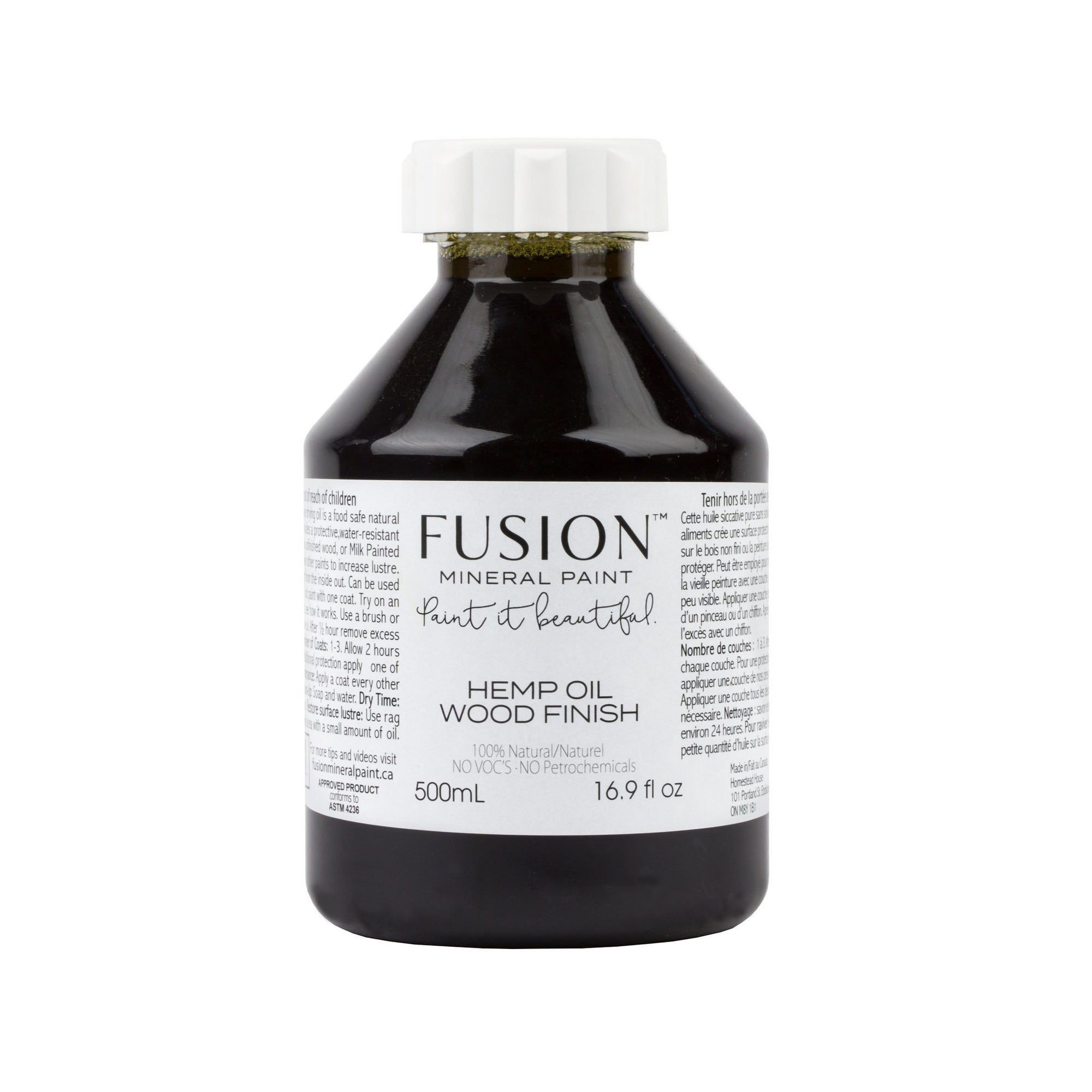 Hemp Oil Wood Finish Fusion Mineral Paint