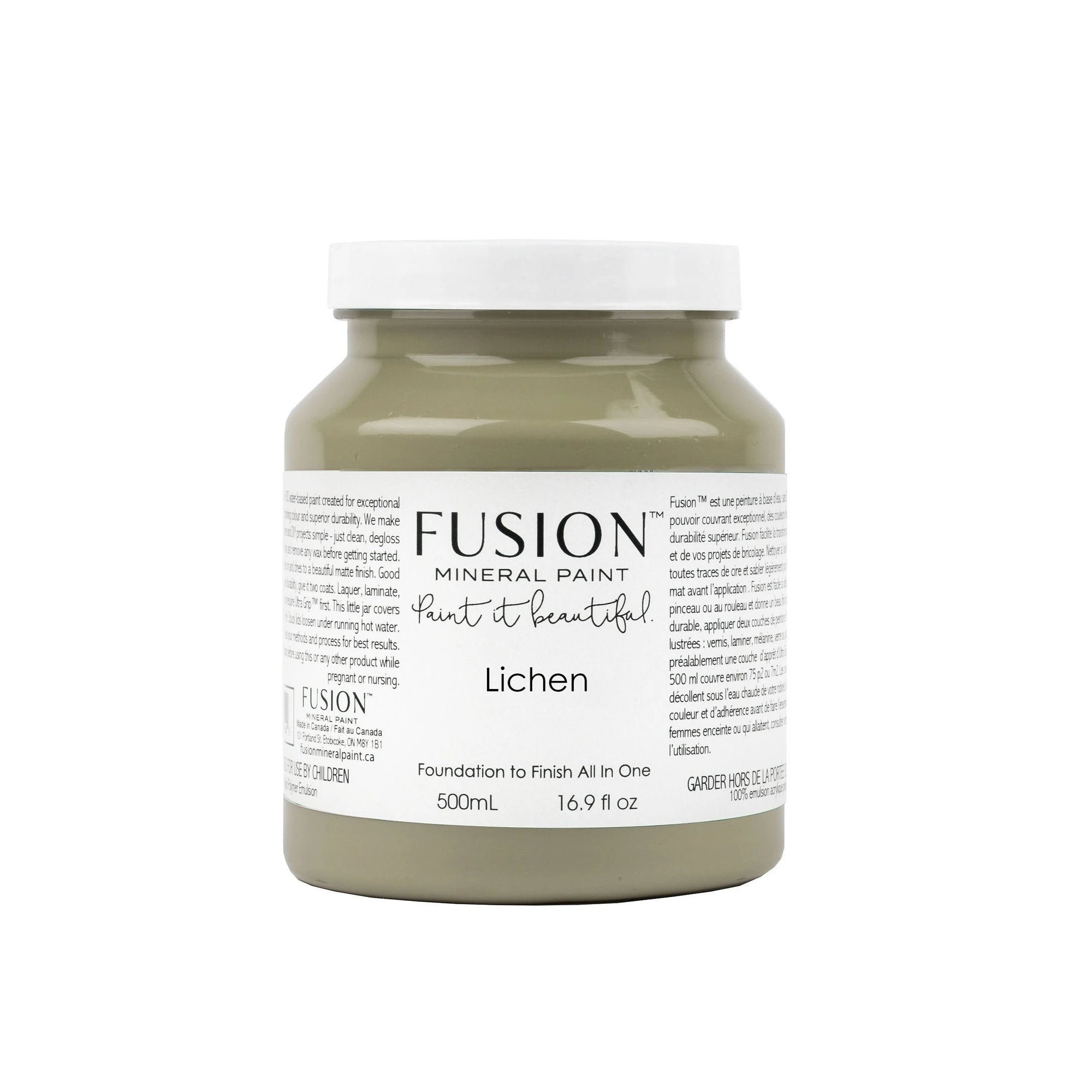 Fusion Paint Lichen Farmhouse Inspired
