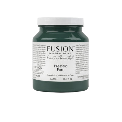 Fusion Paint Pressed Fern Farmhouse Inspired