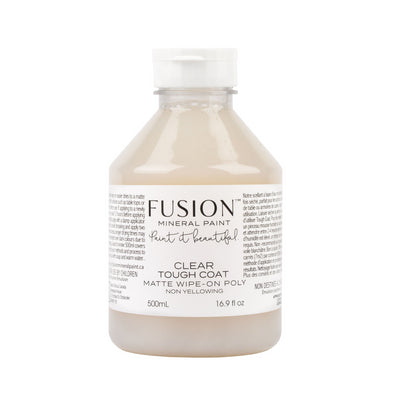 Tough Coat wipe on ploy by Fusion Mineral Paint