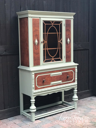 Antique Hutch Lichen Fusion Mineral paint farmhouseinspired