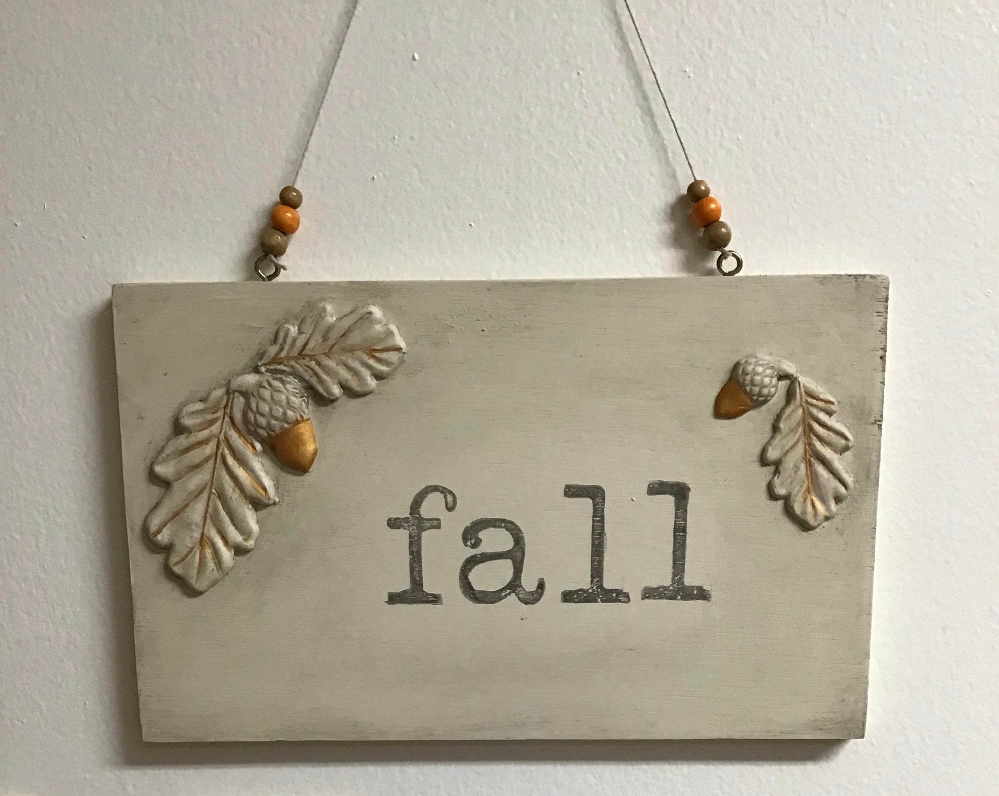 Workshop: Fall Placque