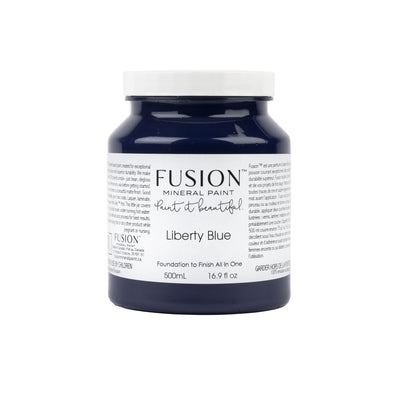 fusion mineral paint farmhouse inspired liberty blue
