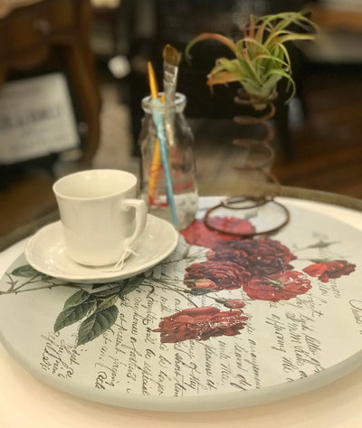 Lazy Susan Workshop:  Love Letter