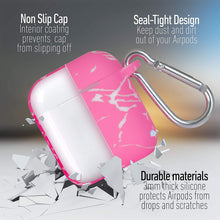 Portable Airpods Case Cover & Protective Silicone Skin Cover Case for Apple Airpods