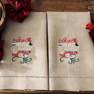Most Wonderful Time Guest Towel