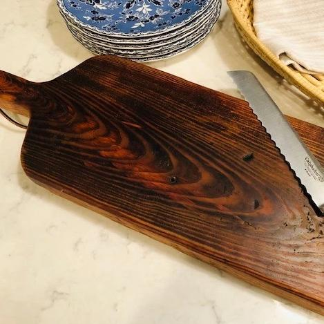 Serving Board Heart Pine