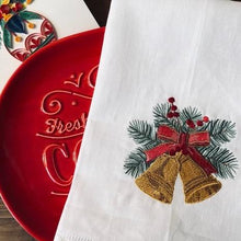 Load image into Gallery viewer, Christmas Bells Guest Towel