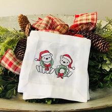 Load image into Gallery viewer, Polar Babies Cocktail Napkins (Set of 2)