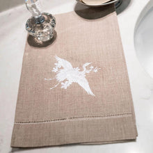 Load image into Gallery viewer, White Heron Guest Towel