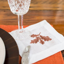 Load image into Gallery viewer, Fall Acorn Cocktail Napkins