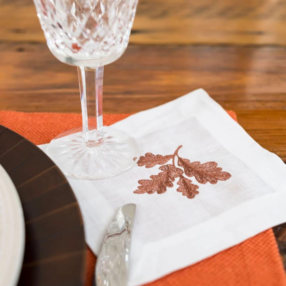 Fall Acorn Cocktail Napkins