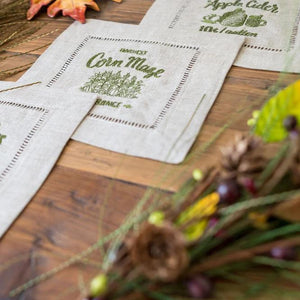 Fall Sayings Cocktail Napkins