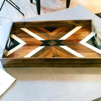 Statement Serving / Hostess Tray