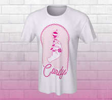 "Load image into Gallery viewer, Chandail Candy ""Chain Gang"" T-Shirt Unisexe - Blanc"