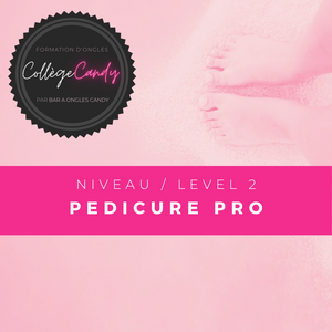 Courses Level 2 : PRO Pedicure
