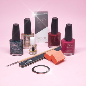 """Cocktail Crafter"" CND Nail Kit"