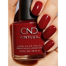 Load image into Gallery viewer, CND VINYLUX Nail Polish - Cherry Apple